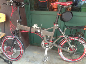Folding Bikes, Blogs, and New Friends