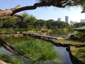 Hamarikyu Gardens – A Nice Park in the Middle of Tokyo